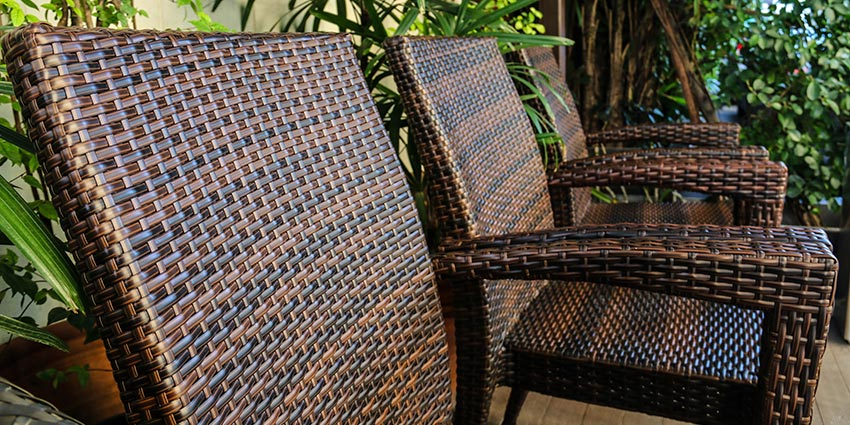 Natural Wicker Vs. Synthetic Resin Wicker: What You Should Buy